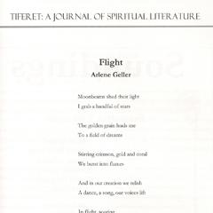Lyrical Writing (Poems & Songs): Flight