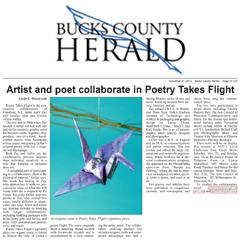Poetry Takes Flight Bucks County Herald