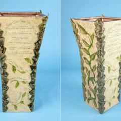 Poetry Takes Flight Vase Wind